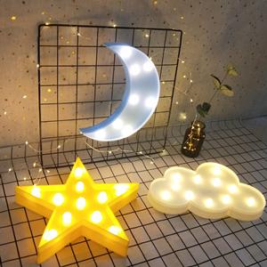 star moon light