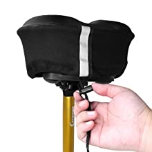 draw-string and 2 extra straps can effectively prevent the bicycle seat cover from sliding.