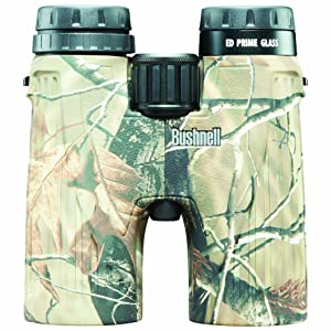 Front view of Bushnell Ultra HD Realtree Binoculars