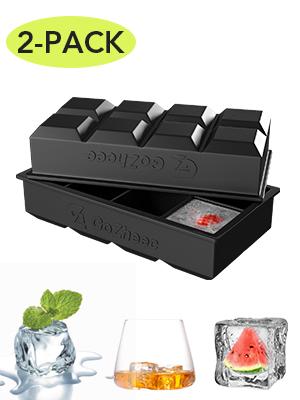 Compra Bandeja De Hielo De Silicona, [2 Pack] 16 XL cubitera hielo ...