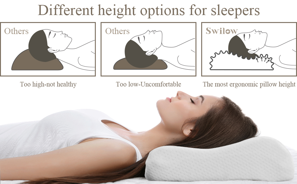 different height options for sleepers