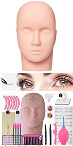 False Eyelash Extension Practice Kit