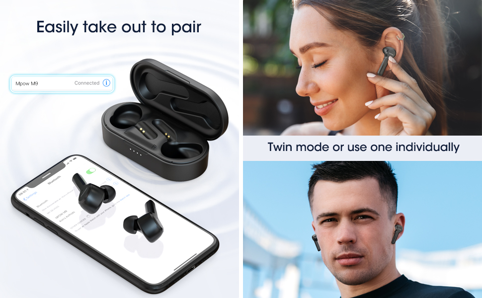 Wireless Earbuds Stereo Bass