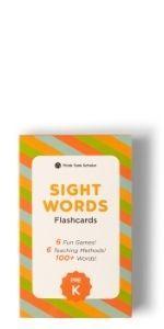 Think Tank Scholar Pre-K Sight Words Flash Cards