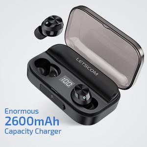 Headphones with Wireless Charging Case