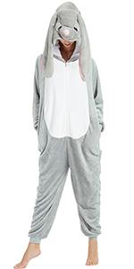 Bunny Onesie for Adult