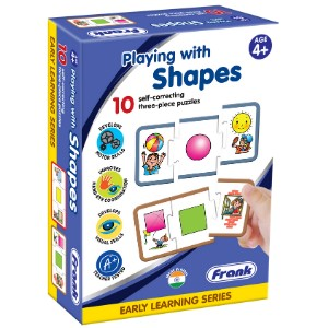 Playing with Shapes Matching Puzzles