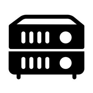 home solutions audio speaker equipment shelf bass rubber riser spacer dampening theater absorbing