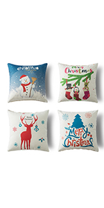 christmas pillow covers for sofa pillow cover 18x18 mothers day 4 set pillowcase 18x18 accent pillow