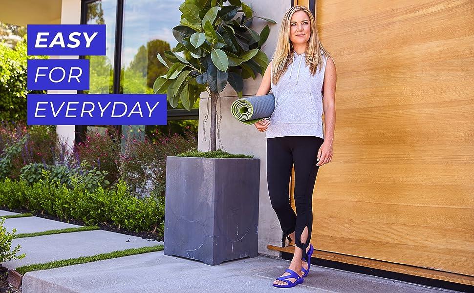easy for everyday, women, joybees, sandals