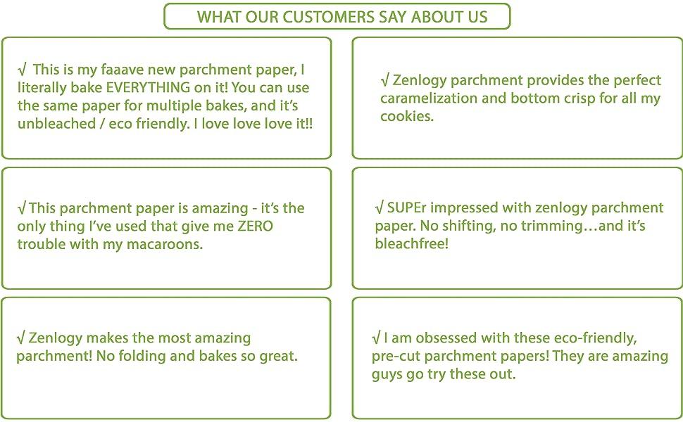 Zenlogy Unbleached Parchment Paper