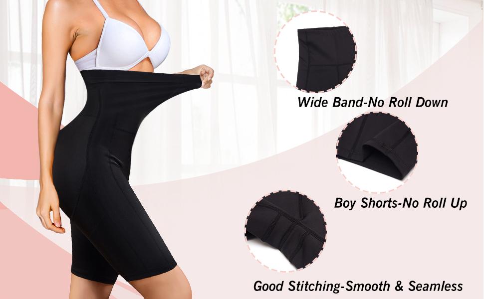 high elastic waist shaper control panties