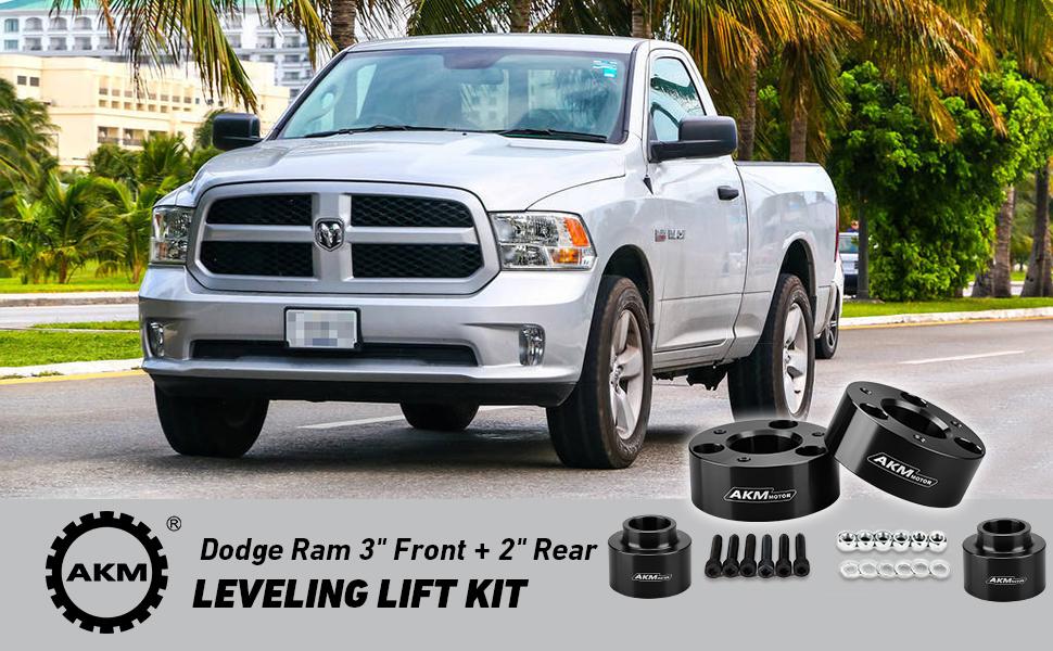 "2009-2019 Dodge Ram 1500 4WD Aluminum Front 2/"" Lift Kit"