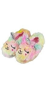 girl unicorn slippers