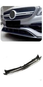 W176 CF Front Lip Benz A Class A45 AMG A200 A250 Sport CF Front Chin Spoiler Bumper Lip Protector