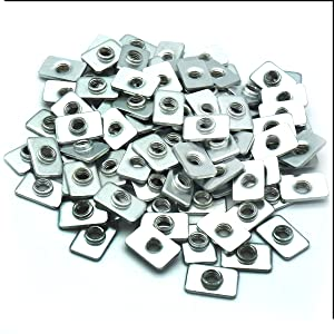 100 pcs simple falt T nuts economy T nut