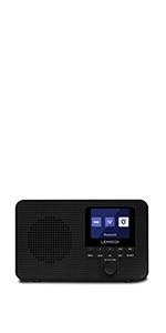 portable dab radio compact auto-scanning fm radio rechargeable USB pocket-size