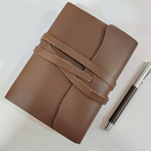 premium quality vintage leather journal notebook reminders gifts men women travel diary artists