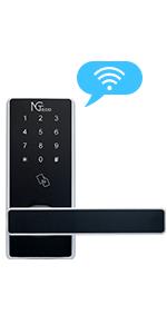 Wifi smart door lock