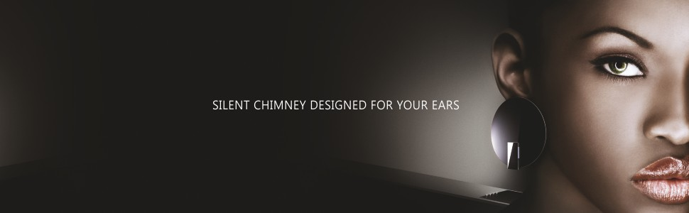 Elica Deep Silent Chimney with EDS3 Technology 1 3D Filter, Touch Control, Black)