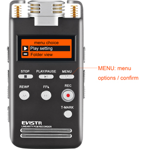 voice recorder microphone gain control