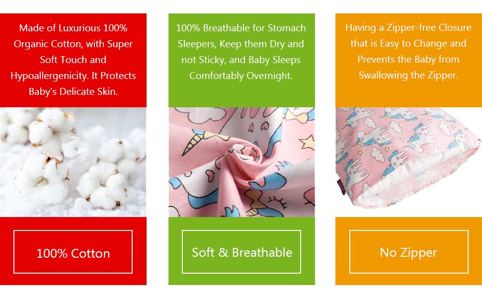 comfortable pillowcase for kids
