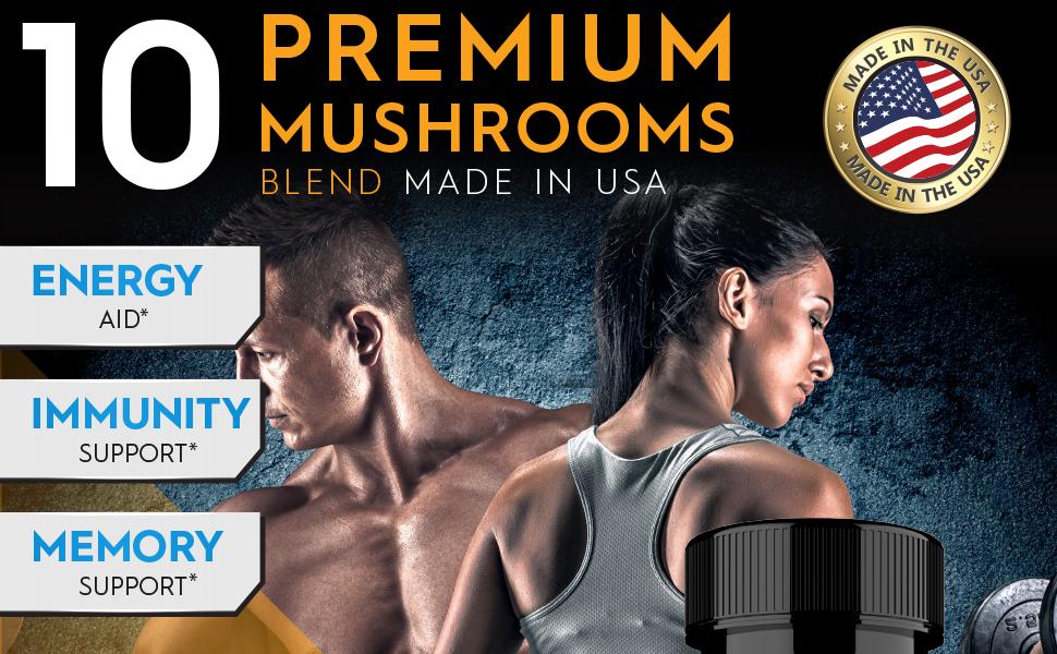 cordyceps mushroom capsules lion's mane mushroom capsules mushroom supplements