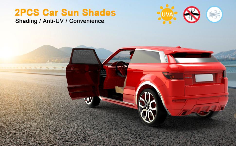 Car Side Window Sun Shade