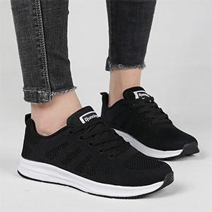 women running shoe tennis shoes women black walking shoes athletic sneakers for women lady gym shoes
