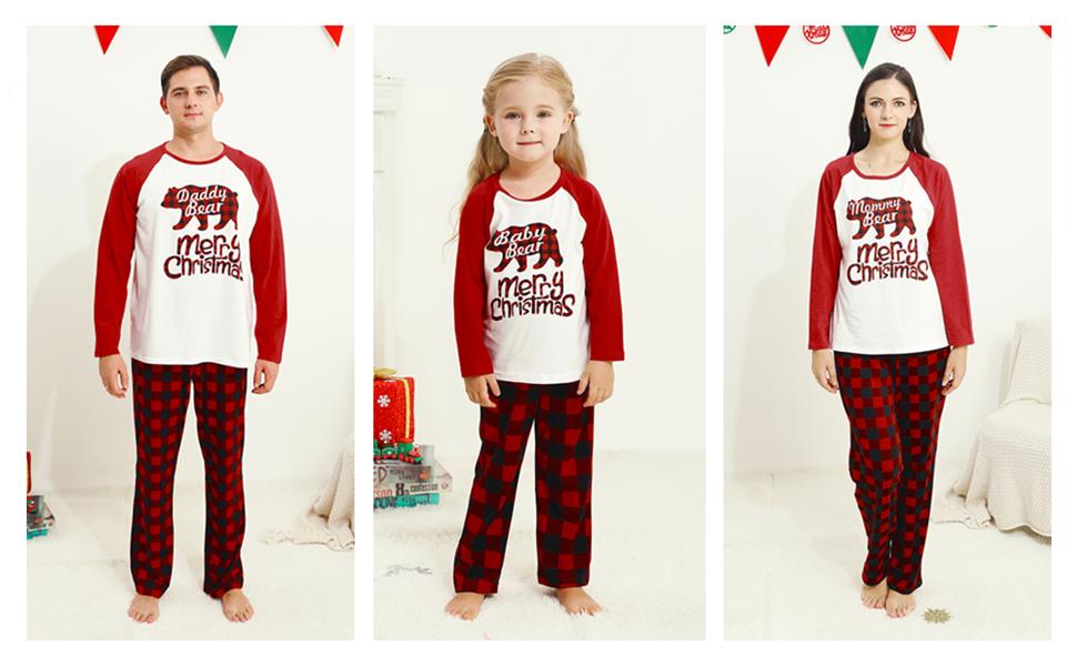 family pajamas set
