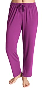 women full length soft comfy loose fit cool pajamas pants sleep bottoms