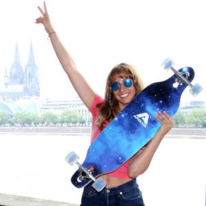 Apollo Midiboard Skateboard Cruisen Boarden