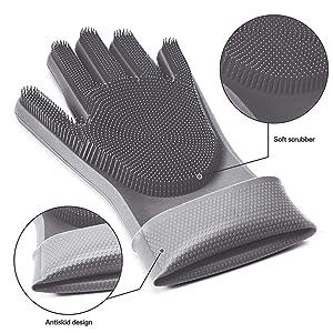 silicon gloves