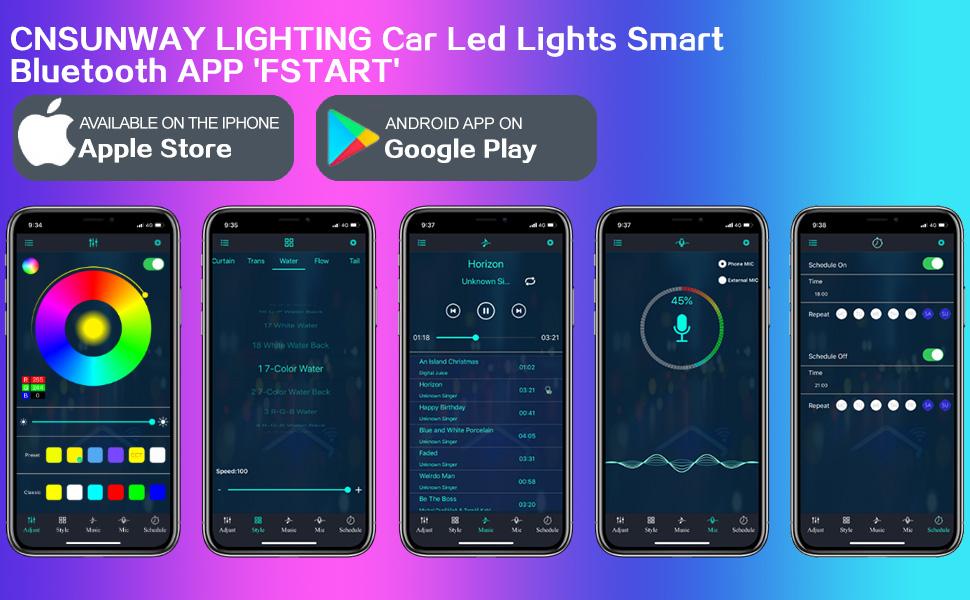 BLUETOOTH CAR LIGHT