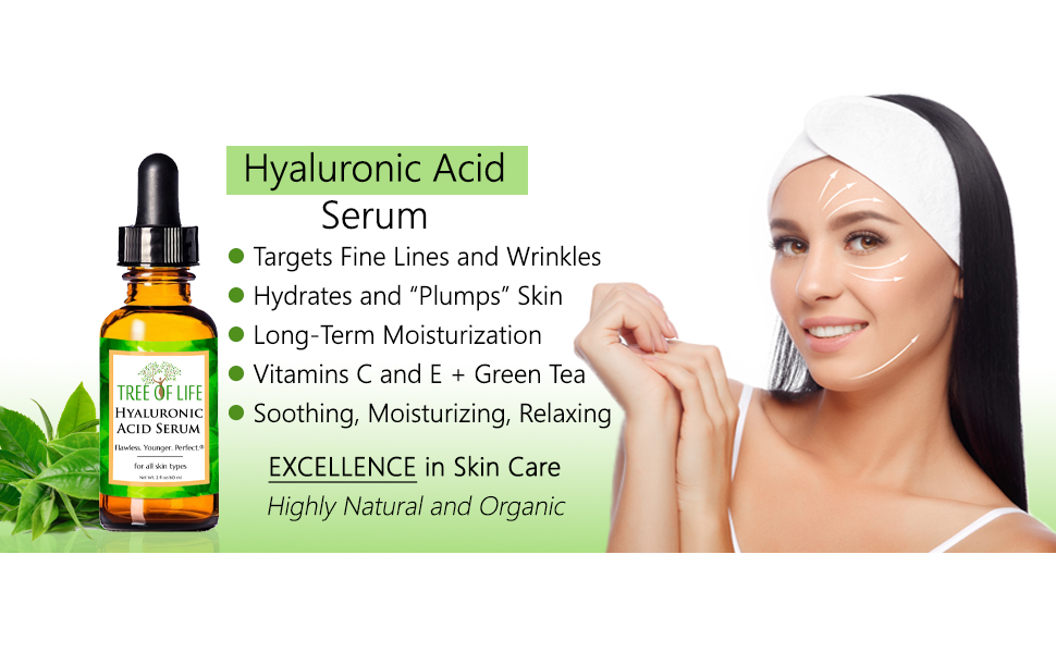 Hyaluronic Acid Serum Anti Aging Wrinkle Cream for Face and Skin 0146584