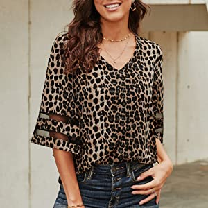 Blouse is perfect to pair with any jean, casual pants and skirt