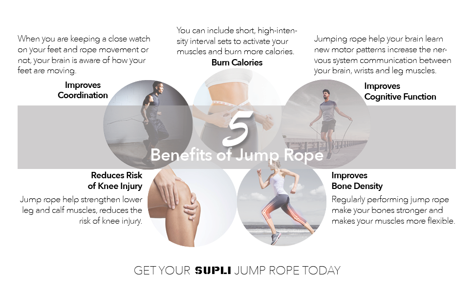 5 Benefits of Jump Rope