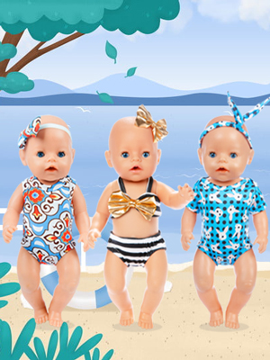 baby doll clothes baby doll swimsuit bitty baby doll clothes 16 inch 15 inch baby doll outfits