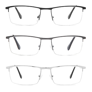 anti blue light glasses,computer reading glasses half-rim readers anti reflective glare eyeglasses