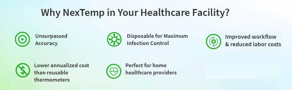 why nextemp in healthcare facility?