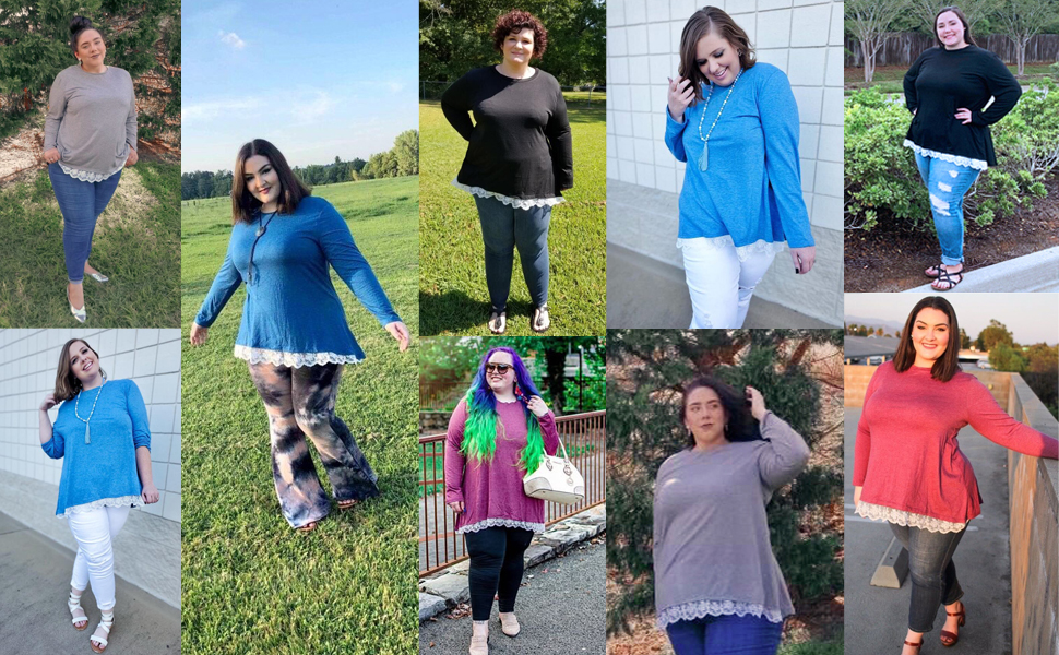fit well plus size comfy cozy