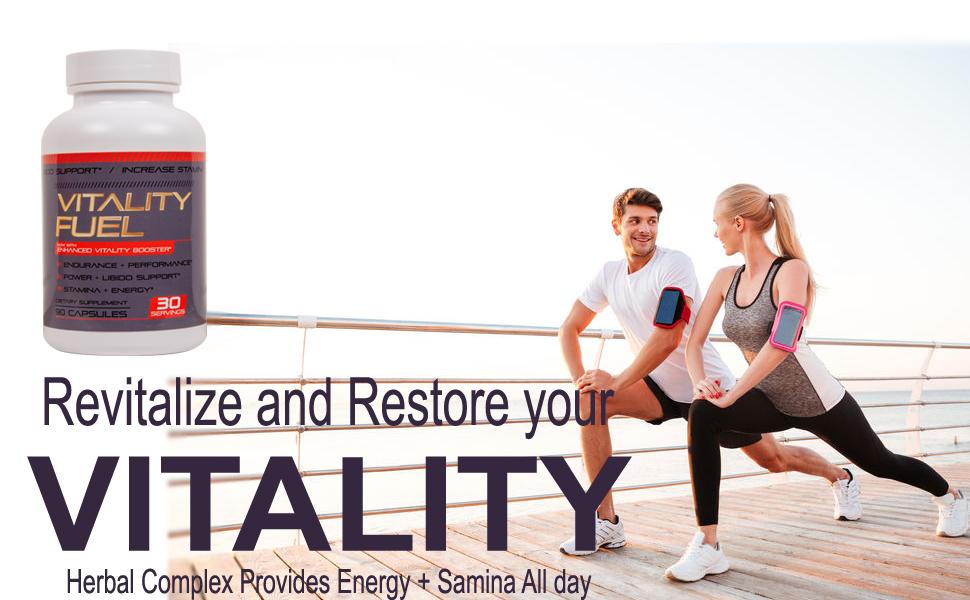 Vitality Fuel Energy Performance size stamina endurance pills