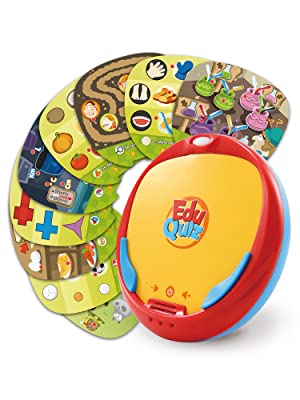 educational learning handheld quiz game toy self learning kids