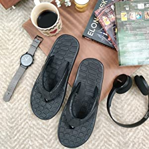 stylish and comfortable flip flops for men for casual and outdoor wear, stylish men's slippers
