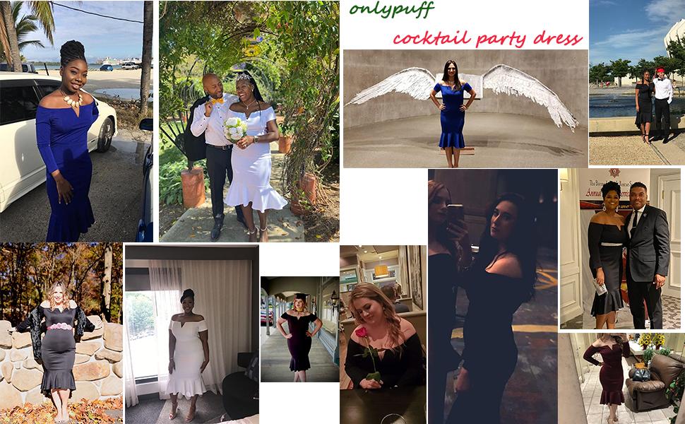 women cocktail party dress
