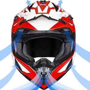 Adult ATV Motocross Off-Road Street Dirt Bike Full Face Motorcycle Helmet DOT Approved MTV Men Women
