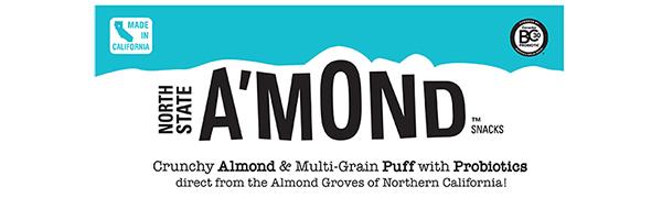 almond snack puffs cheddar honey chipotle bbq cheetos probiotics plant based non gmo gluten free