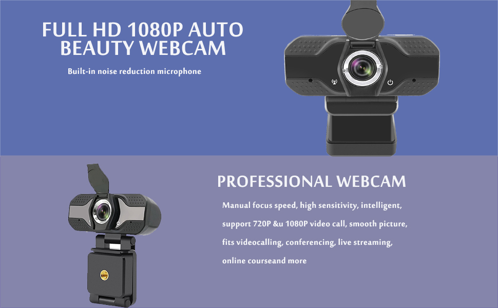 USB 2.0 720P 1080P HD Webcam Web Camera