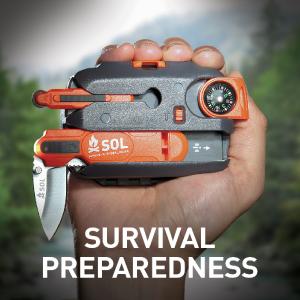 woods navigate wayfinder cut sharp blade prepper bushcraft emergency kit trail backpack safety wire