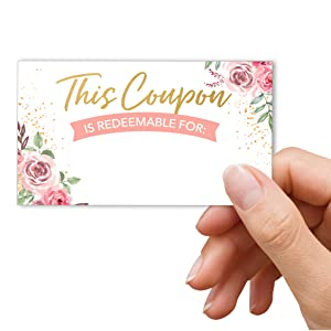 employee appreciation coupons bulk gifts love fillable blank diy mothers day promotional codes